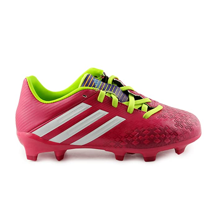 f1a60785b Amazon.com  adidas Predito Ablsolado LZ TRX FG J Soccer Cleats Shoes -  Vivid Berry (Little Kid Big Kid) - 6  Shoes