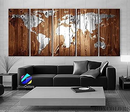 amazon com ezon ch modern art xlarge 30 x 70 5 panels art canvas