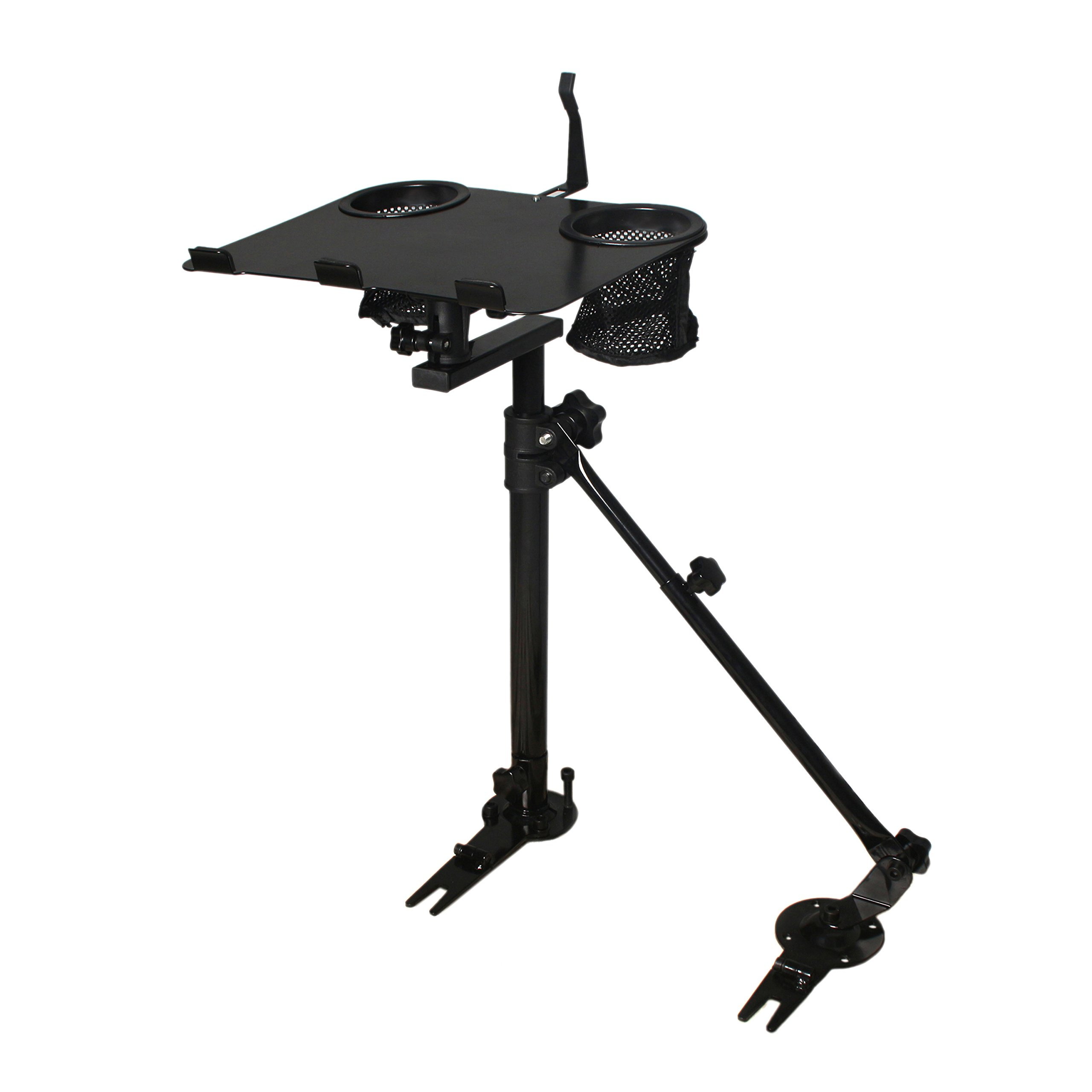 AA-Products K005-B3 Car Laptop Mount Stand Holder With Non-Drilling Bracket and Supporting Arm Kit