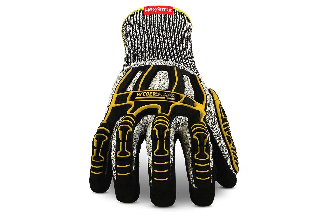 Weber Rescue TH-Handschuhe Extrication 2090W (4543 Nach EN 388) fü r Feuerwehr und Rettungsdienst (8/M) WEBER RESCUE Systems