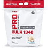 GNC Pro Performance Bulk 1340 - Vanilla Ice Cream, 15 Servings, Supports Muscle Energy, Recovery and Growth