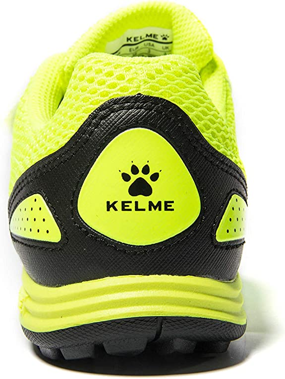 Indoor or Outdoor Soccer Shoes for Boys and Girls KELME Soccer Cleats Laceless for Kids and Youth