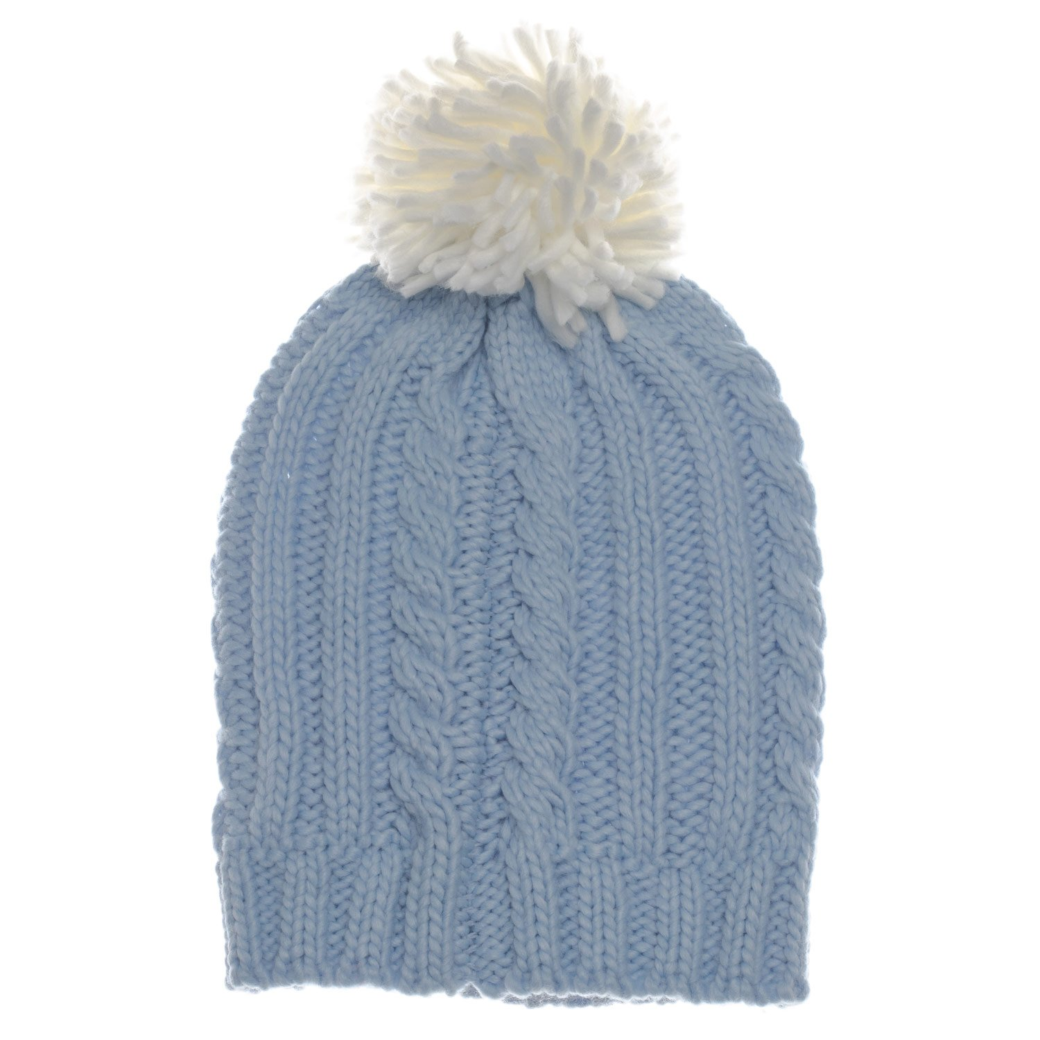 Brave Soul Women s Cable Knit Beanie Pale One Size Blue at Amazon Women s  Clothing store  6401c3c8a