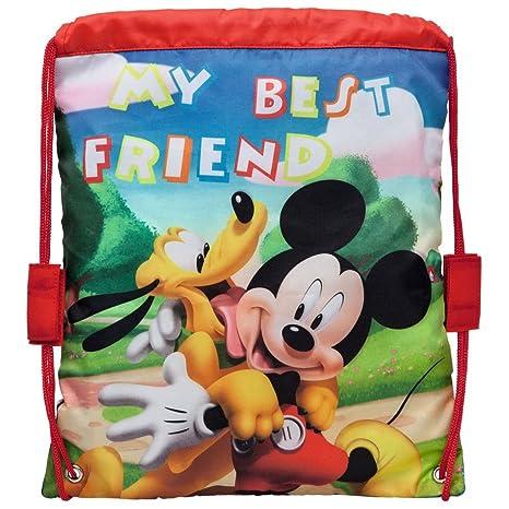 Disney 1623501 Mochila Infantil Bolsa Merienda Mickey y ...