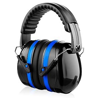 Orejeras de Protecció de ruido Baban Casco antiruido Auriculares de seguridad cómodos Cabezas con cancelación de