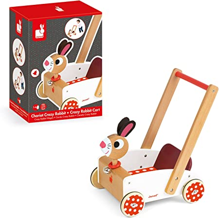 Amazon.com: Janod Crazy Rabbit andador: Toys & Games