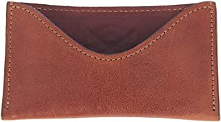 product image for Col. Littleton Full-Grain Leather No.3 Business Card Case | Made in USA | Brown