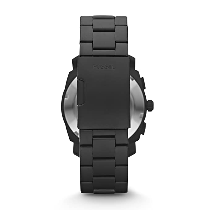 Amazon.com: Fossil Mens Machine Quartz Stainless Steel Chronograph Watch Color: Black (Model: FS4682): Fossil: Watches