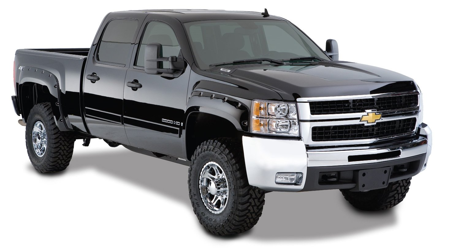 Silverado 2007 chevrolet silverado 2500 : Amazon.com: Bushwacker 40924-02 Chevrolet Pocket Style Fender ...
