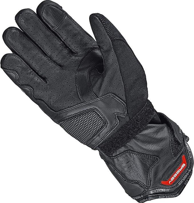 Held Motorradhandschuhe Kurz Motorrad Handschuh Sambia 2in1 Gore Tex Handschuh Schwarz 7 Herren Enduro Reiseenduro Ganzjährig Leder Textil Bekleidung