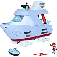 Incredibles 2- Set Barco Los Increíbles Accesorios, (Jakks Pacific UK 76869-1-PLY)
