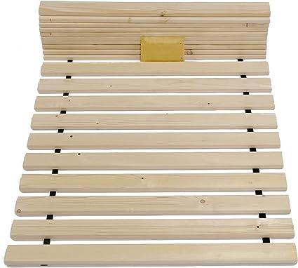 Tuga de madera Tech 20 mm Roll – Somier somier, 90 x 210 cm hasta 200 kg