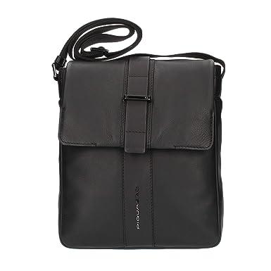 l'atteggiamento migliore d66ac 5d215 PIQUADRO Borsello Medio patta Pelle Nero Porta iPad BAe Ca4602s98 ...
