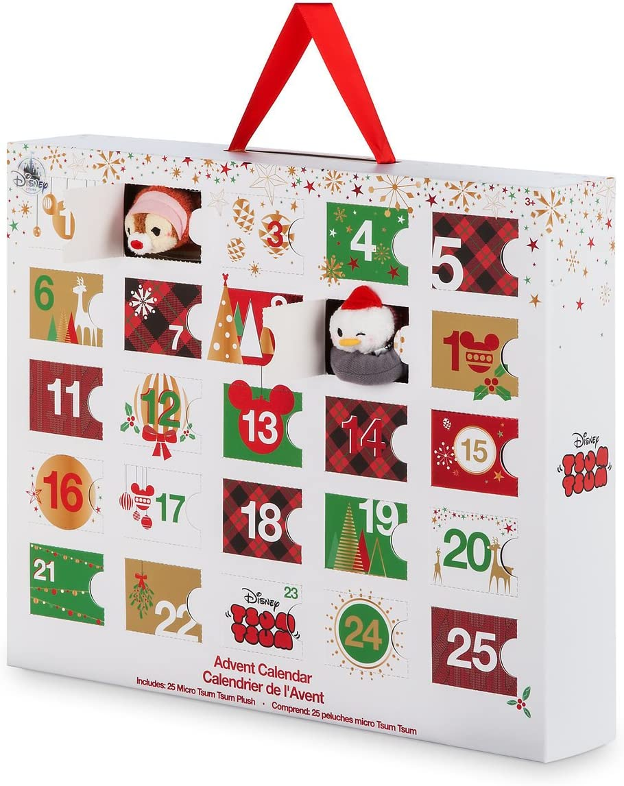 Amazon.com: DISNEY TSUM TSUM PLUSH ADVENT CALENDAR   MICRO