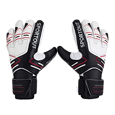 Youth&Adult Goalie Goalkeeper Gloves,Strong Grip