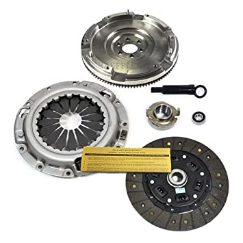 EFT Kit de embrague + nodular volante Ford Sonda Mazda 626 MX-6 B2000 B2200 2.0L 2.2L: Amazon.es: Coche y moto
