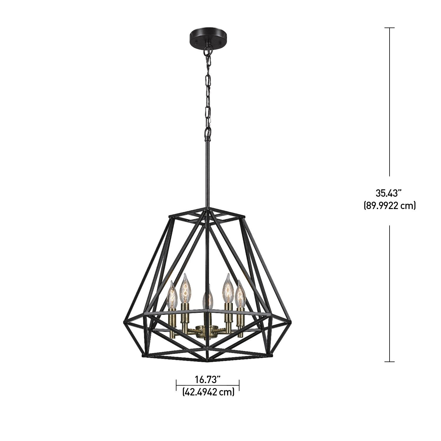 Globe electric sansa 5 light chandelier dark bronze finish globe electric sansa 5 light chandelier dark bronze finish antique brass accents 65435 amazon arubaitofo Gallery