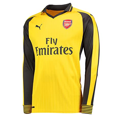 7a4fc7f93 Amazon.com   PUMA 2016-2017 Arsenal Away Long Sleeve Shirt (Kids ...