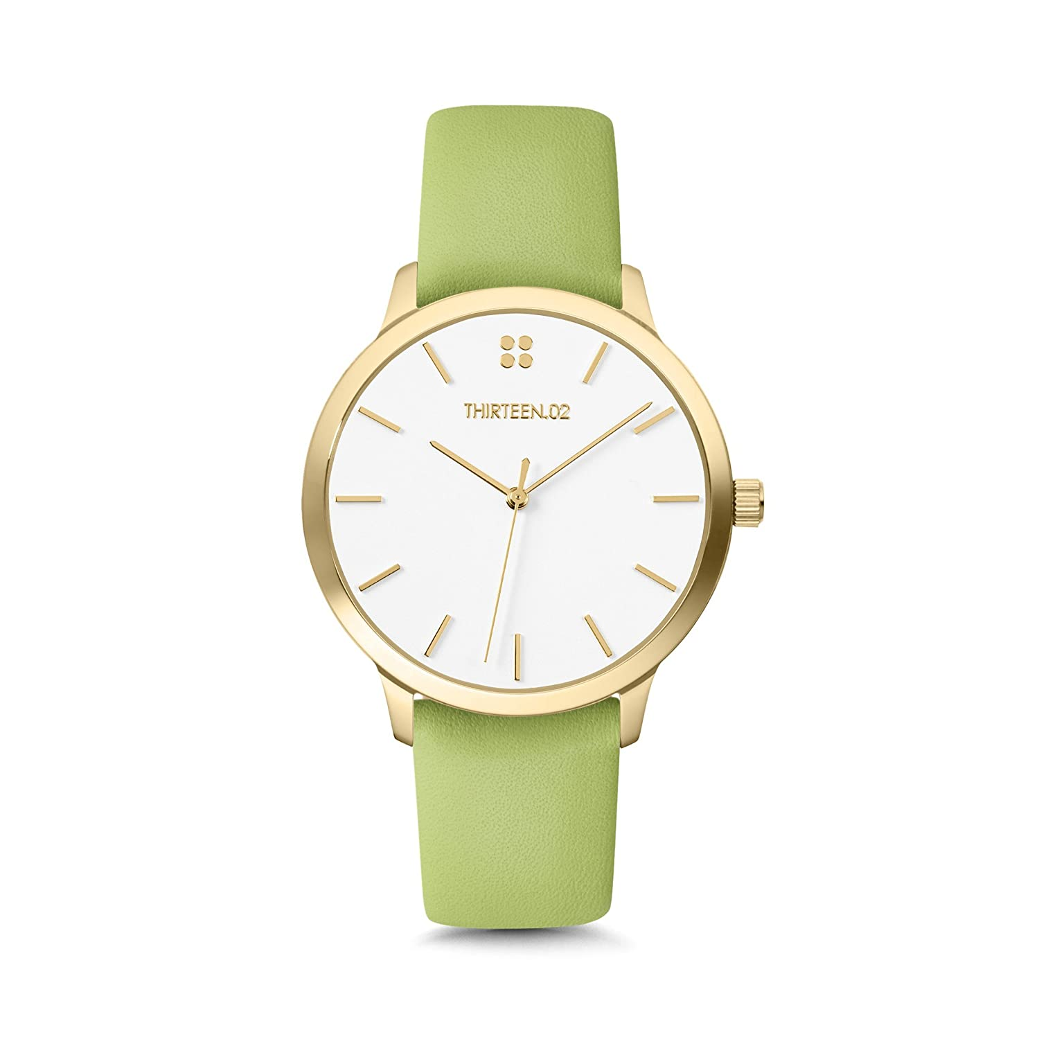 1302 Watches for Women, Gold Leather Band Watch, Womens Watches, Watches for Women, Reloj de Mujer, Womens Wrist Watch, Gift for Women, Gift for Wife, ...