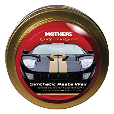 Mothers 05511 California Gold Synthetic Paste Wax - 11 oz.: Automotive