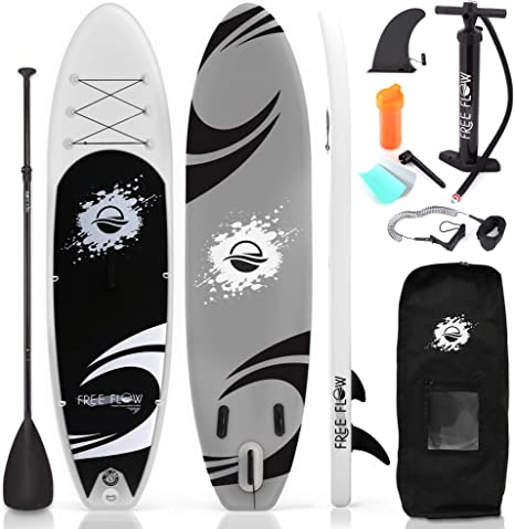 Amazon.com : Inflatable Stand Up Paddle Board - 10' Ft. Standup Sup Paddle Board W/ Manual Air Pump, Safety Leash, Paddleboard Repair Kit, Storage / Carry Bag - Sup Paddle Board Inflatable - SereneL...