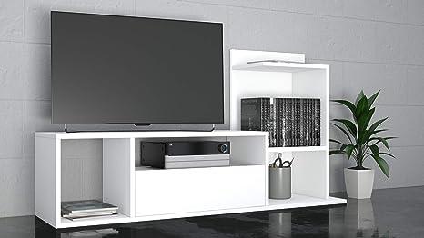 THETA DESIGN by Homemania Porta TV, Mobile TV Sumatra, Bianco ...