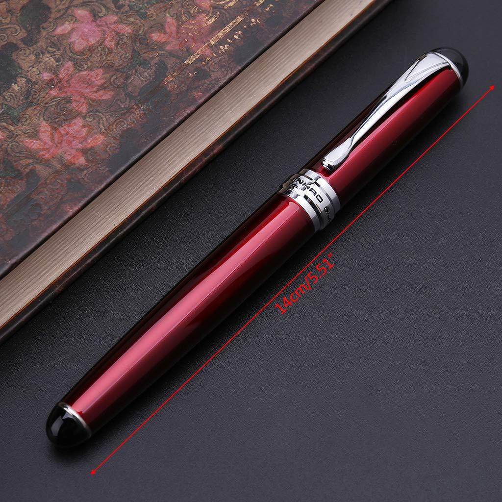 Stylo plume de luxe Jinhao X750 pour homme Business Student 0,5 mm extra fin Outil d/écriture pour vos amis taille unique 6