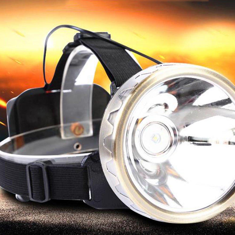 ERHANG Stirnlampen Led Scheinwerfer Hohe Leistung Super Hell Starkes Licht 2000W 3000 Meter Angeln Camping Radfahren Portable
