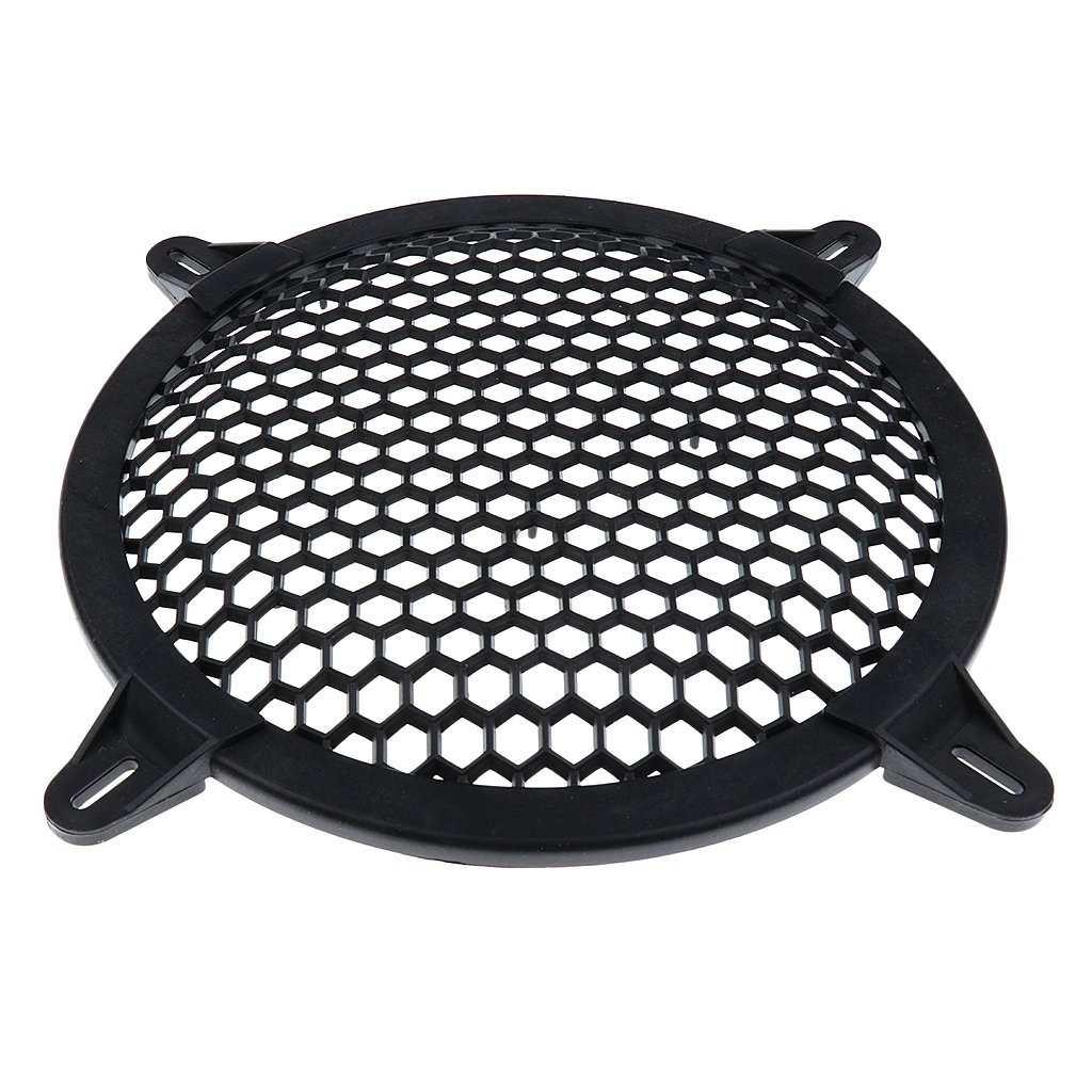 10 inch D DOLITY Car Subwoofer Grill Cover Mesh Protector Universal Repair Replacement