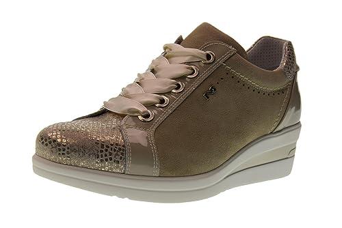 Nero Giardini Scarpe Donna Sneakers Basse con Zeppa P805061D 445   Amazon.it  Scarpe e borse af5b69666a0