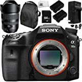 Sony Alpha A99 II ILCA99M2 A99II DSLR Camera with Tamron SP 15-30mm f/2.8 Di USD Lens for Sony A 8PC Kit - Includes 64GB SD Memory Card + MORE - International Version (No Warranty)