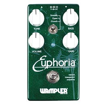 Wampler Euphoria Overdrive - Pedal de efectos para guitarra eléctrica: Amazon.es: Instrumentos musicales