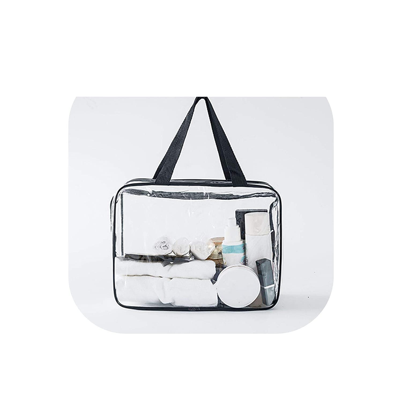 8a0b1af90fc4 Amazon.com : Transparent Pvc Bags Travel Organizer Clear Makeup Bag ...