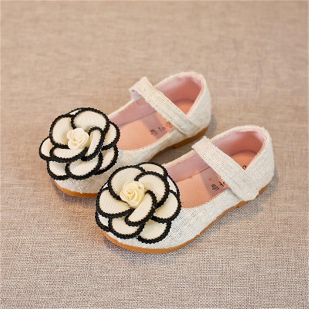 Super frist Toddler Little Girls Dress Ballet Flat Shoes
