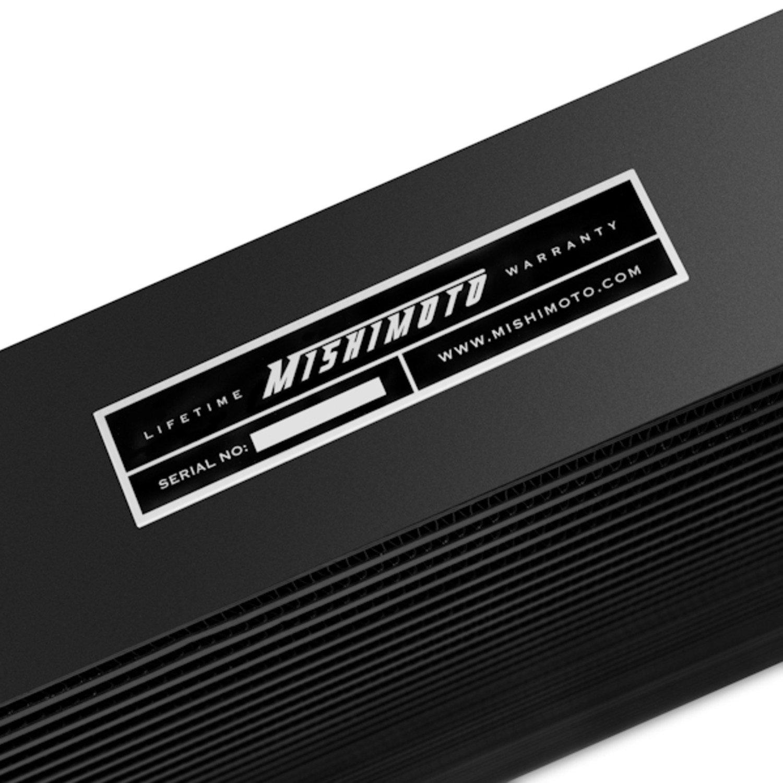 Black 2003-2007 Mishimoto MMINT-RAM-03KBK Dodge 5.9L Cummins Intercooler Kit