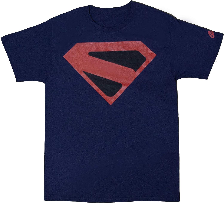 Available M L XL DC Superboy Black T-Shirt