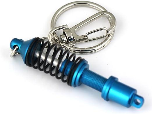 Coilover Damper Suspension Shock Absorber Keychain Keyring Adj SL