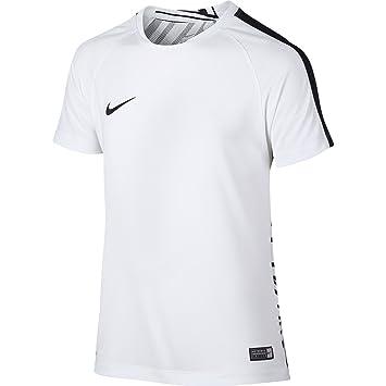 Nike Neymar B GPX B SS Top - Camiseta de fútbol para niños, Color Blanco