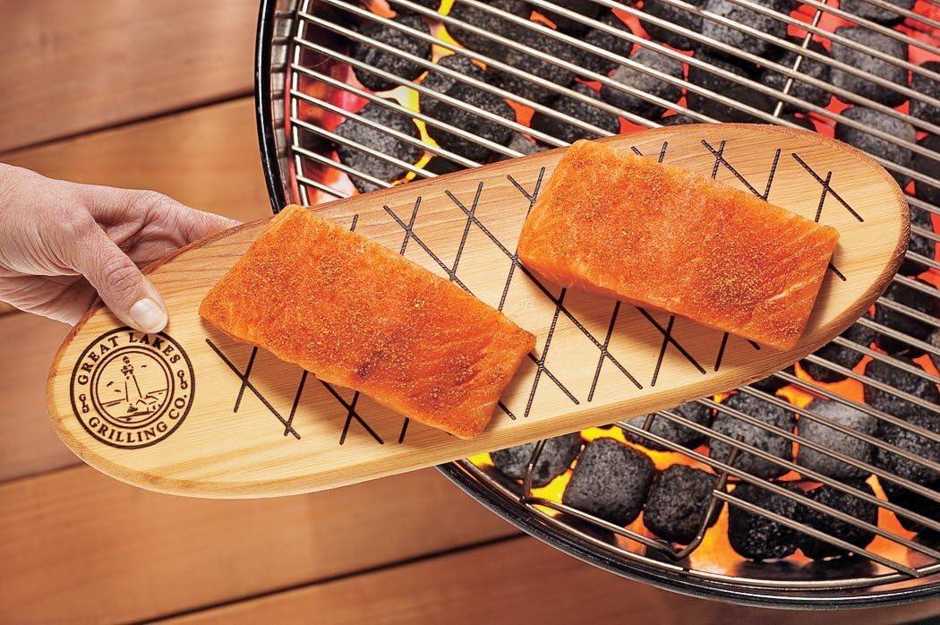 Charcoal Companion Wood Grilling Plank CC6044 Cedar Single
