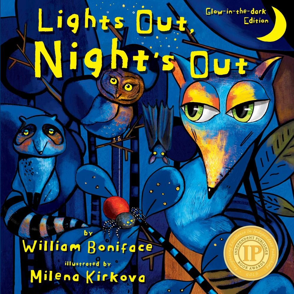 Lights Out, Night's Out: A Glow in the Dark Book (Glow-in-the-dark Editions) pdf