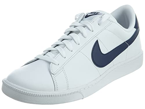 more photos 3a28e a2b2d Nike Tennis Classic CS - Scarpe da Tennis, Colore Bianco (White Midnight  Navy