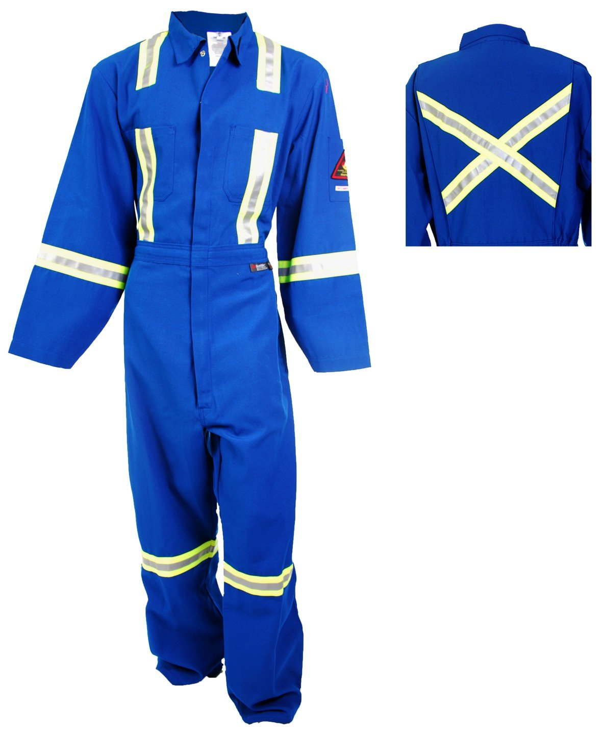 Flame Resistant 3M FR Reflective Coverall (48T / XL)