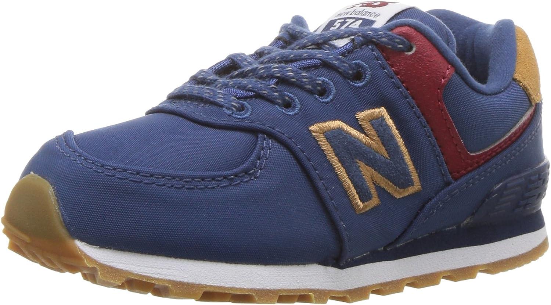 New Balance Kids' 574v1 Lace-Up Sneaker