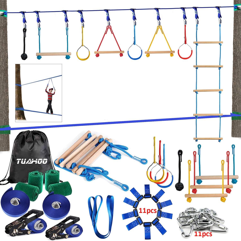 Climbing Rope Obstacle Slack line Slackline kids Intro Kit Ninja Line NinjaLine
