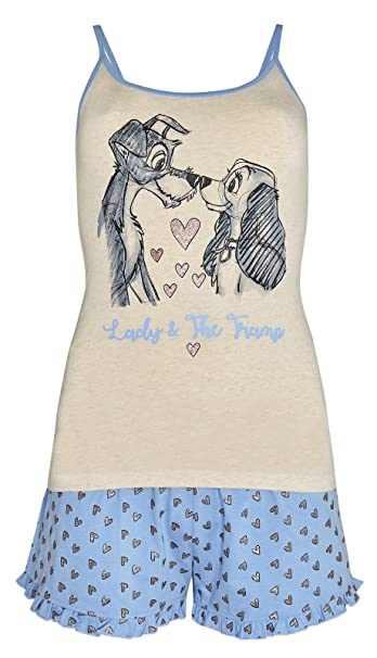 Primark Pijama - para mujer azul/multicolor XL