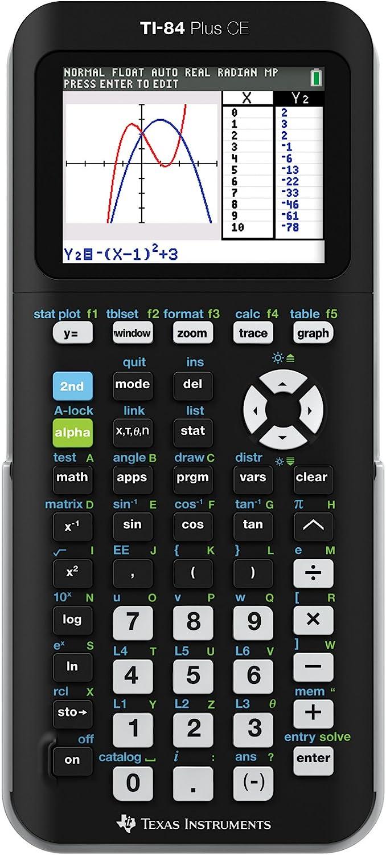 Texas Instruments TI-84 Plus CE Graphing Best Scientific Calculator