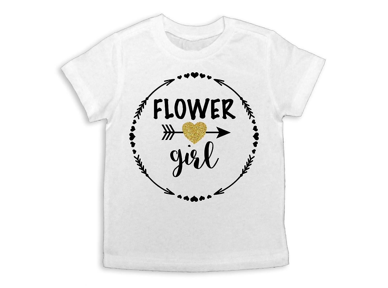 Oliver and Olivia Apparel Flower Girl Shirt Flower Girl Gift Flower Girl Tee Flower Girl Top