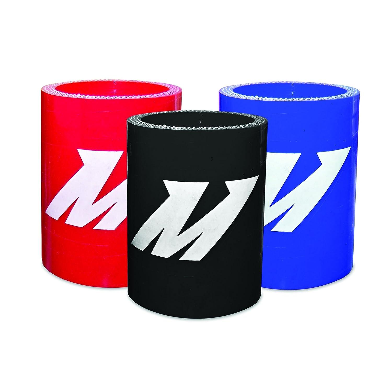 Black Mishimoto MMCP-1375SBK Straight Coupler 1.375