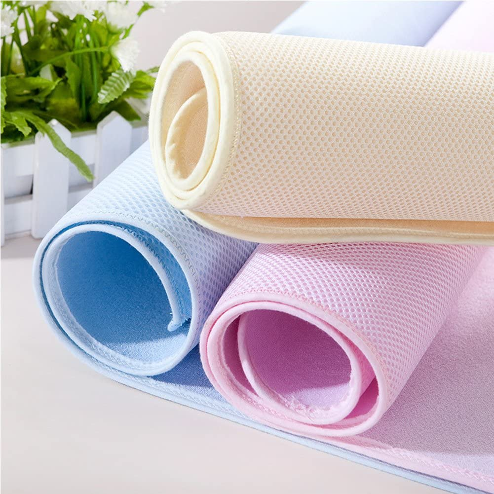 Baby Infant Cotton Waterproof Changing Pads Washable Resuable Diapers Liners Mats 1pc Pink Medium 70x50cm