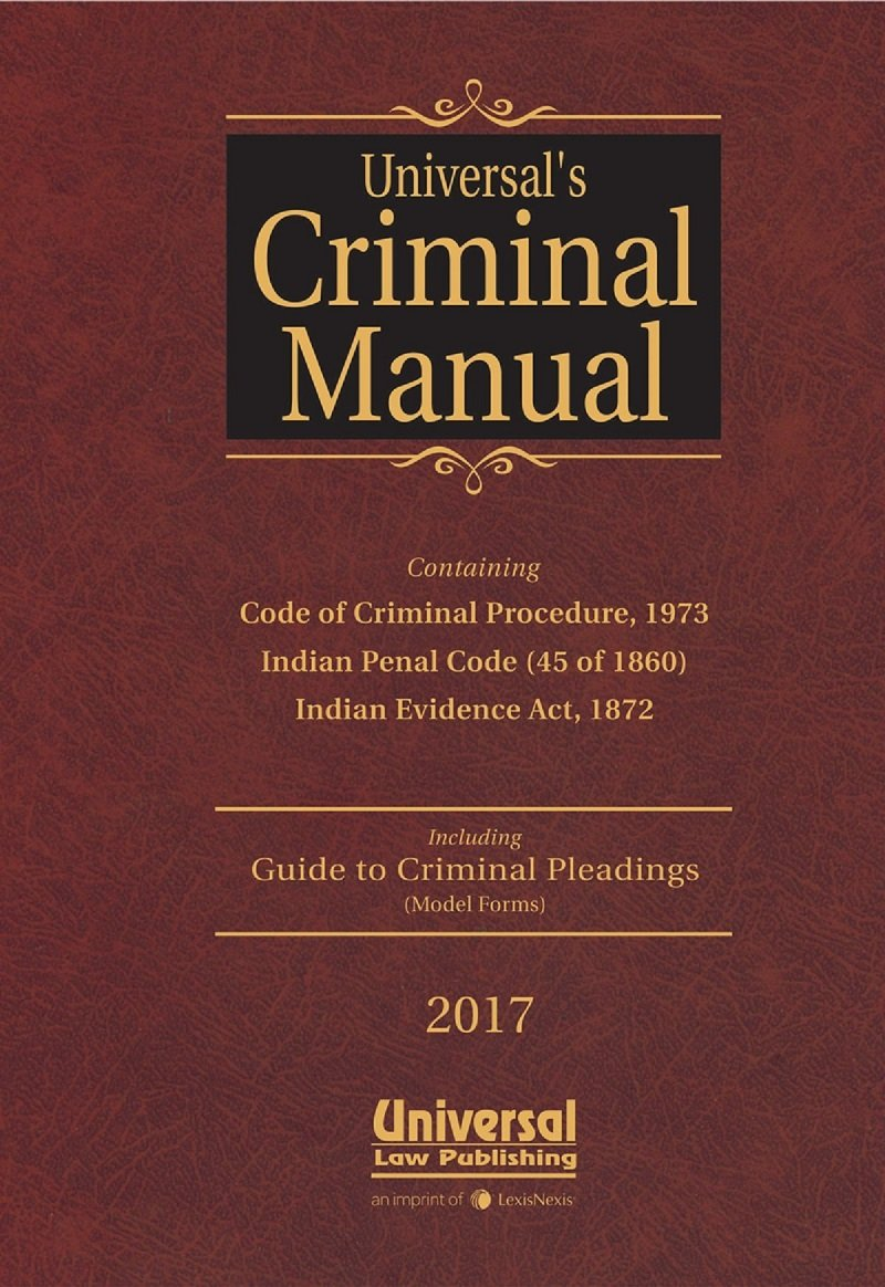 Buy Criminal Manual: Cr P C , I P C  & Evidence (with Free